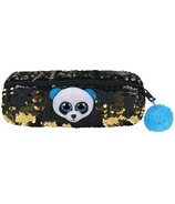 Ty Flippables Bamboo the Panda Sequin Pencil Bag