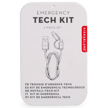 Kikkerland Tech Kit in Tin