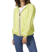 O8 Lifestyle Sloane Full Zip Packable Jacket Citrus