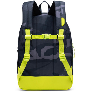 Herschel Supply Heritage Youth XL Night Camo & Lime Punch