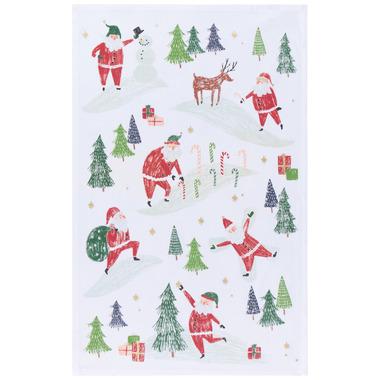 Now Designs Dishtowel Must Be Santa