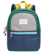 STATE Mini Kane Colour Block Green & Navy