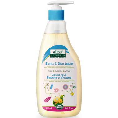 Aleva Naturals Bottle & Dish Liquid Water Lilly