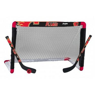 Buy Franklin Nhl Calgary Flames Mini Hockey Set At Well Ca Free