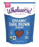 Wholesome Sweeteners Organic Fair-Trade Dark Brown Sugar