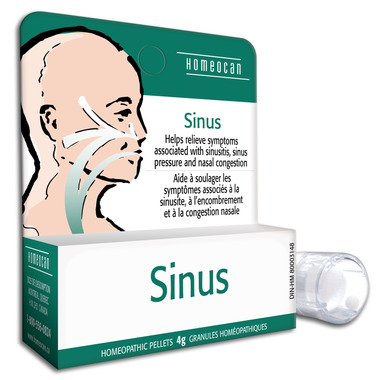 Homeocan Sinus Relief Homeopathic Pellets