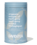 DAVIDsTEA Seasonal Printed Tins Cream of Earl Grey