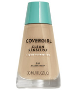 Covergirl Clean Sensitive Skin Liquid Foundation