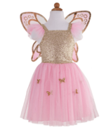 Great Pretenders Gold Butterfly Dress and Wings