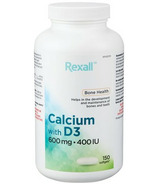 Rexall Calcium with D3 600mg 400IU Value Size