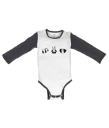 Nest Designs Organic Cotton Long Sleeve Onesie Panda Party
