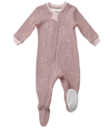 ZippyJamz Footed Sleeper Galaxie Love Pink
