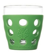Lifefactory Small Beverage Glass Grass Green