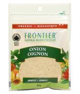 Frontier Natural Products Granules d'oignon biologique
