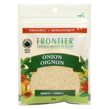 Frontier Natural Products Organic Onion Granules