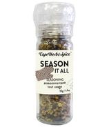 Cape Herb & Spice Moulin de table Assaisonnement pour tout