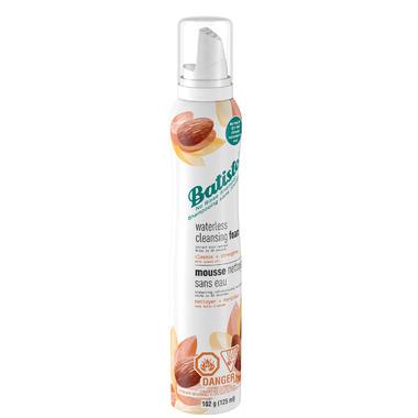 Batiste Waterless Cleansing Foam No Rinse Shampoo Cleanse Strengthen