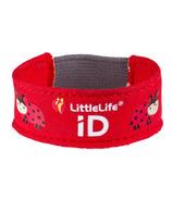 LittleLife Safety ID Strap Ladybug