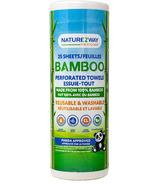 NatureZway Bamboo Perforated Reusable Towel