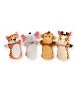 Marionnettes à main Melissa & Doug Zoo Friends
