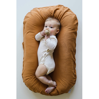 Snuggle Me Organic Lounger with Cover Ember