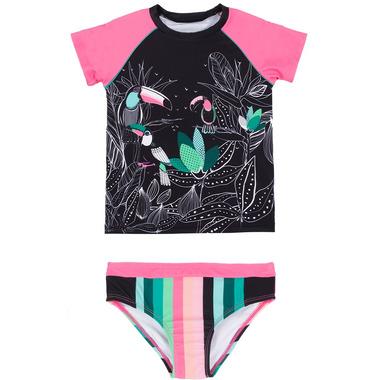 nano Two Piece Rashguard Toucan Swimsuit