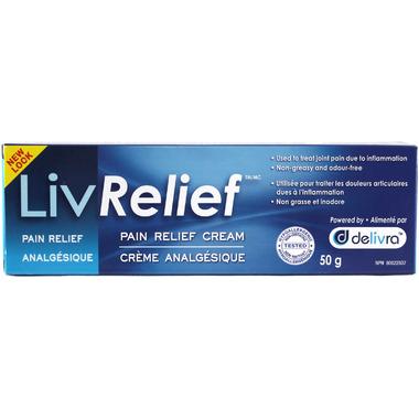 LivRelief Pain Relief Cream