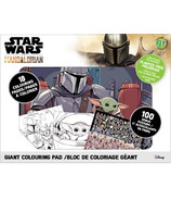 greenre Eco-Mandalorian Eco Giant Colouring Pad with Stickers