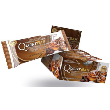 Quest Nutrition Cinnamon Roll Protein Bars