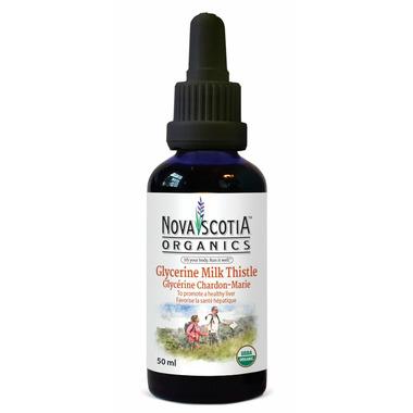 Nova Scotia Organics Glycerine Milk Thistle Tincture