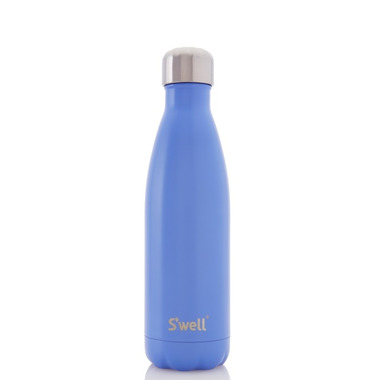 S\'well Satin Collection Stainless Steel Water Bottle Monaco Blue