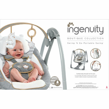 inGenuity Boutique Collection Swing \'n Go Swing Bella Teddy