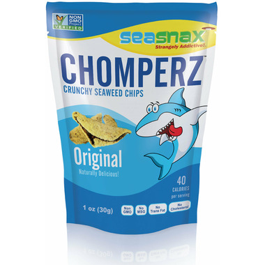 Sea Snax Chomperz Original Seaweed Chips