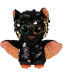 Ty Flippables Omen Halloweenie The Sequin Bat Regular