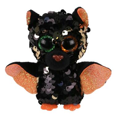 Ty Flippables Omen Halloweenie The Sequin Bat Medium
