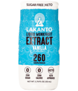 Lakanto Liquid Monk Fruit Extract Vanilla