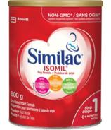 Préparation en poudre pour nourrissons Similac <em>Isomil</em> à base de soya avec DHA