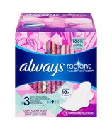 Always Radiant Infinity Day Pads Size 3 Extra Heavy