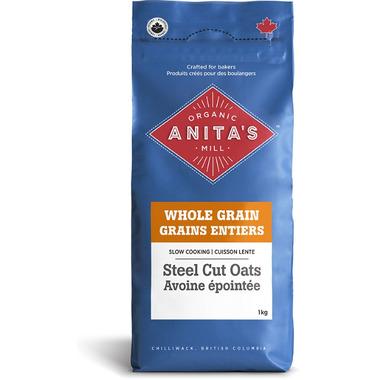 Anita\'s Organic Mill Whole Grain Steel Cut Oats