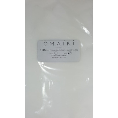 Omaiki Disposable Diaper Liners