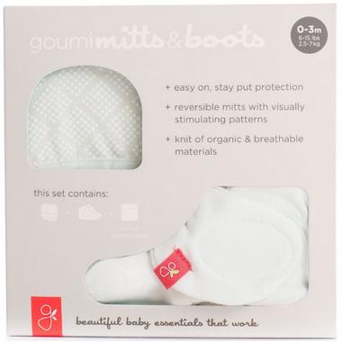 goumikids Newborn Bundle Cream Diamond Dots