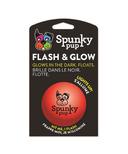 Spunky Pup Flash & Glow Ball