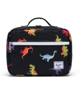 Herschel Supply Pop Quiz Lunch Box Dinosaurs Black
