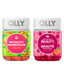 Olly Beauty & Probiotic Gummy Vitamin Bundle