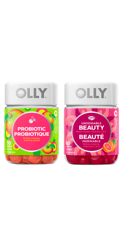 Buy Olly Beauty Probiotic Gummy Vitamin Bundle From Canada At