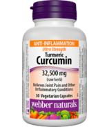 Webber Naturals Turmeric Curcumin Ultra Strength 32500 mg