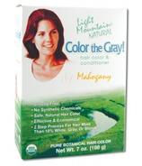 Light Mountain Semi-Permanent Color the Gray Natural Haircolor Mahogany