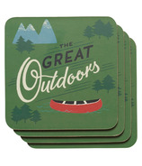 Now Design Coaster Set The Great Outdoors