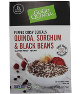 GoGo Quinoa Puffed Cereals Quinoa, Sorghum and Black Beans
