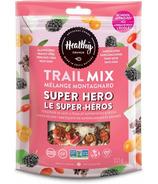 Mélange de fruits secs Super Hero de Healthy Crunch